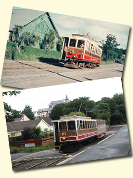 images from the book 'Manx Electric Railway'