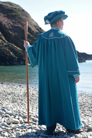 Photo of manx bard in robes
