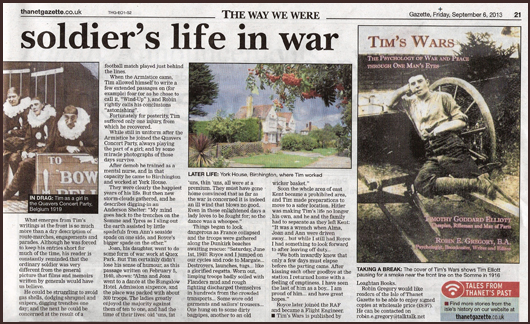 extract from Thanet Gazette