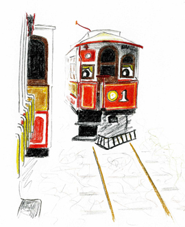image from tram tales series